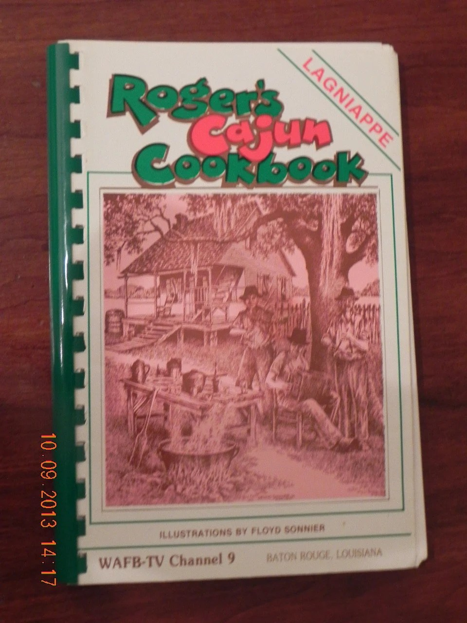You Can Book Me Ltd Roger 39;s Cajun Cookbook By Vernon Roger Louisiana Cooking