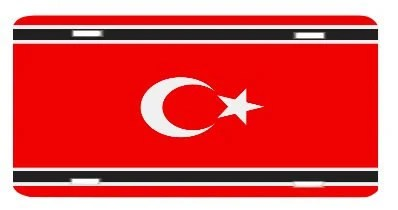 Free Aceh Movement Flag License Plate Metal Wall Sign By