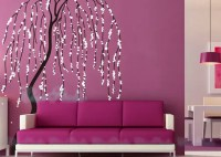 Wall Sticker Wall Decal Windy Willow Tree Decal by ChinStudio