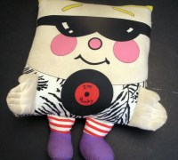 Vintage 1985 Pillow People I'm Punky Throw Pillow