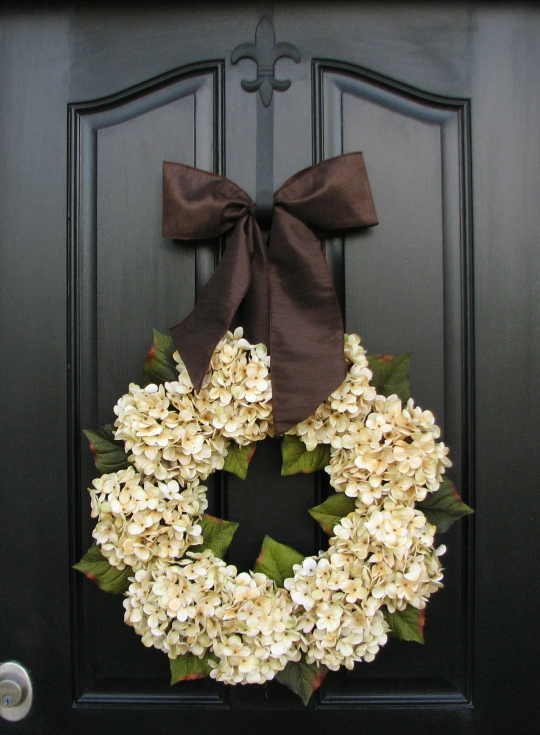 Interruptores Decorados Hydrangea Wreathswedding Decor Wedding Wreaths Champagne