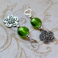 Spring back earrings   Etsy