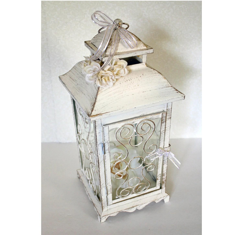 wedding lanterns lanterns for weddings Vintage Antique Ivory Gold Lantern Wedding Decor Wedding Table Centerpiece Ideas Wedding Lantern
