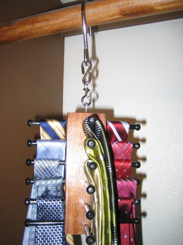 Spinning Tie Organizer Mini