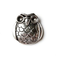 Owl Lapel Pin Tie Tack Valentine's Gift Handmade