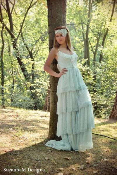 Lace Wedding Dress Bohemian WeddingBoho Wedding Dress Boho