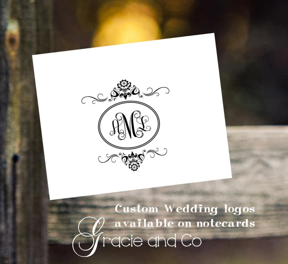 wedding logos custom orig...