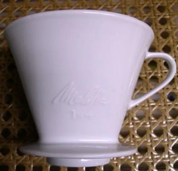Melitta Coffee Filter Holder 1 X 4 Vintage