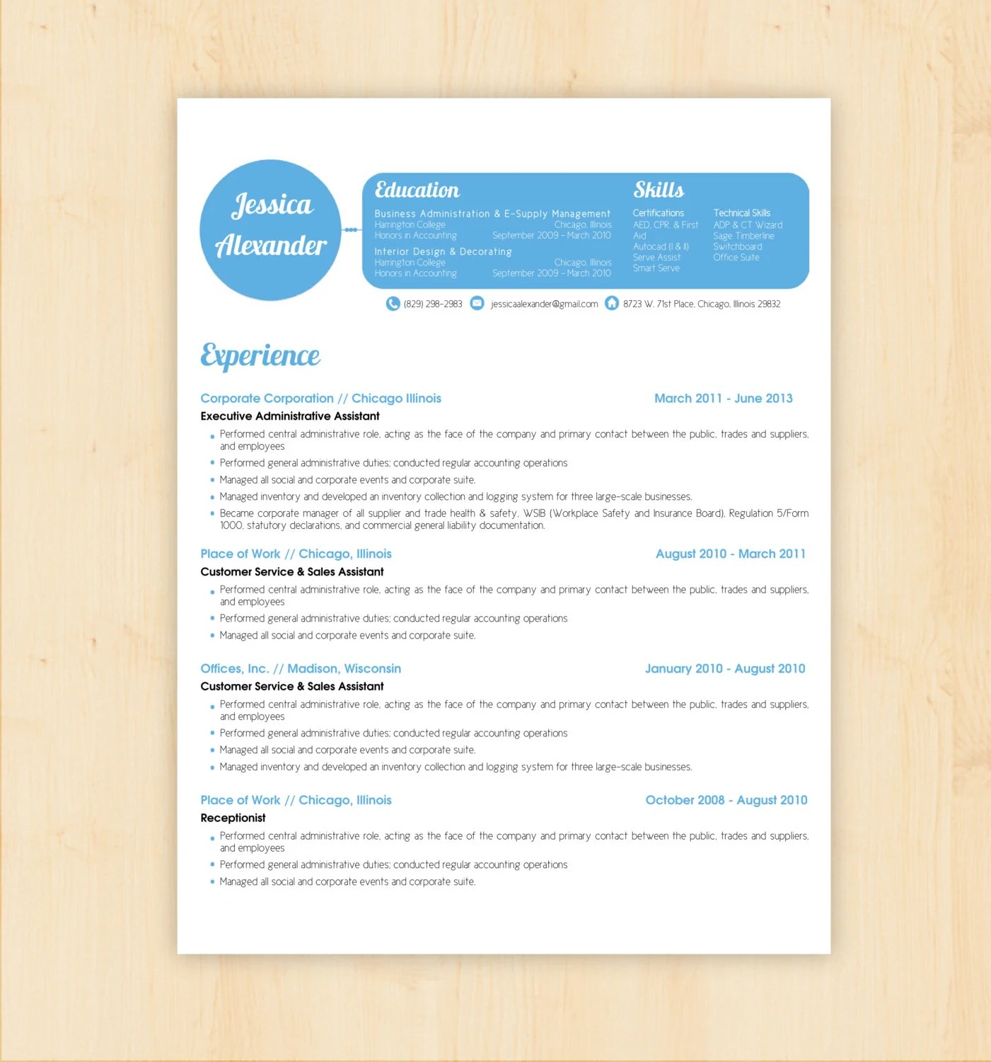 Sample Resume Templates Hoover Web Design Resume Template Cv Template The Jessica Alexander By