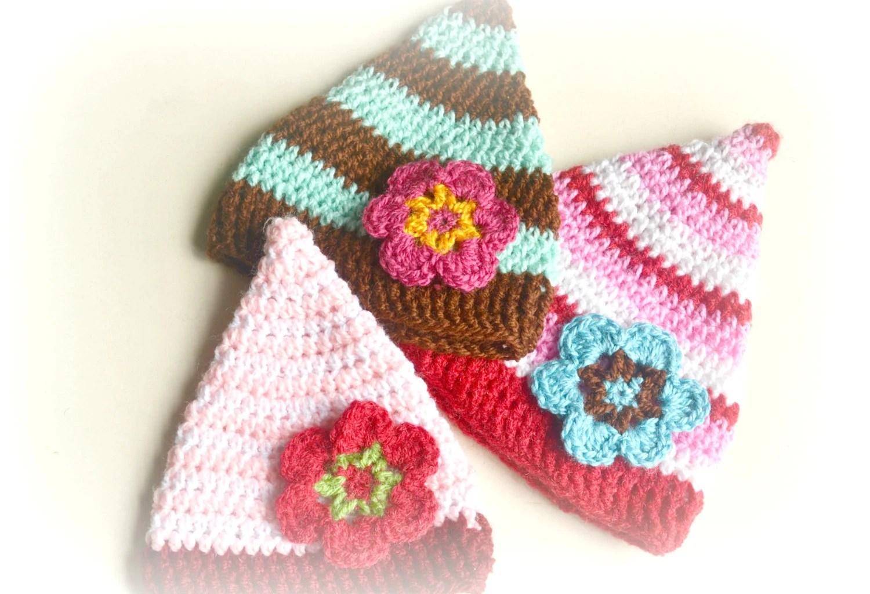 Crochet Pattern Baby Pixie Hat Pakbit For