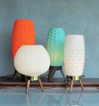 vintage lamp beehive Atomic mid century modern decor