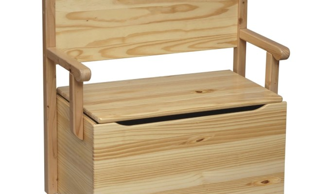 Toy Box Bench Toy Chest Bench Unfinished Wood Furniture