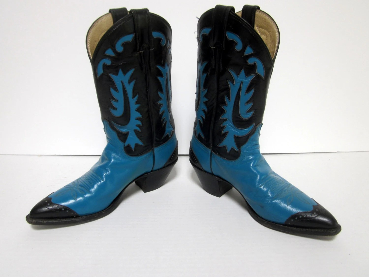 Justin Boots For Women Blue With Wonderful Pictures In