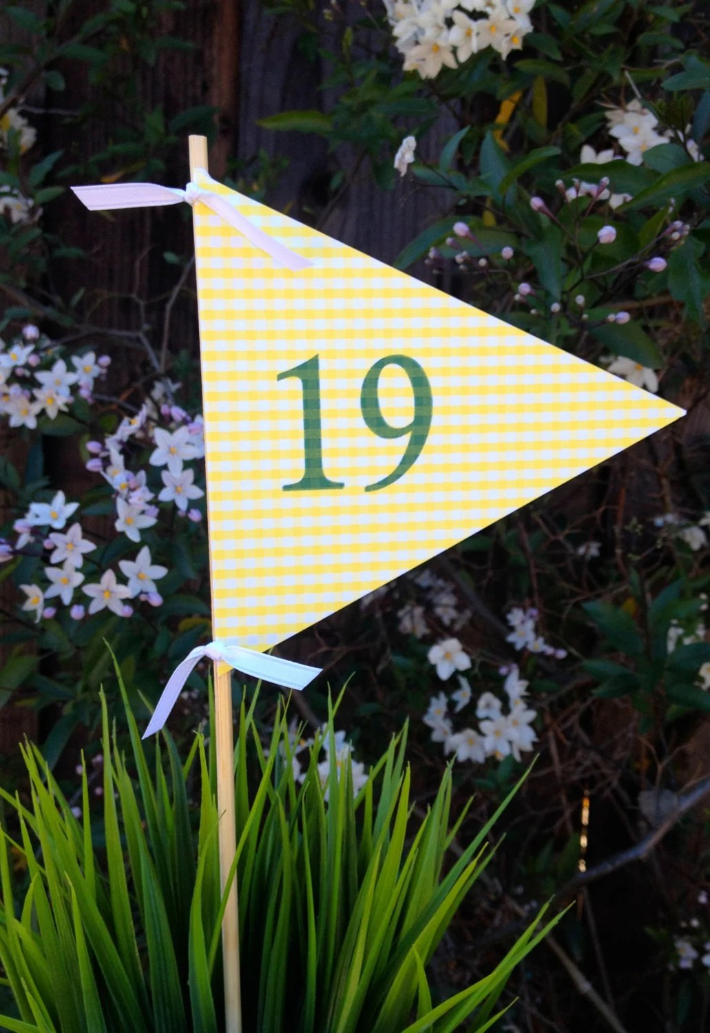The Tile Shop Golf Flag Centerpiece For The 19th Hole By Jacolynmurphy