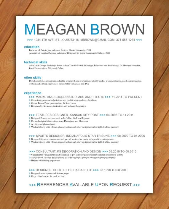 how to change color of resume template