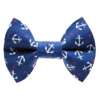 Cat Bow Tie The Ship Ahoy Nautical Anchor