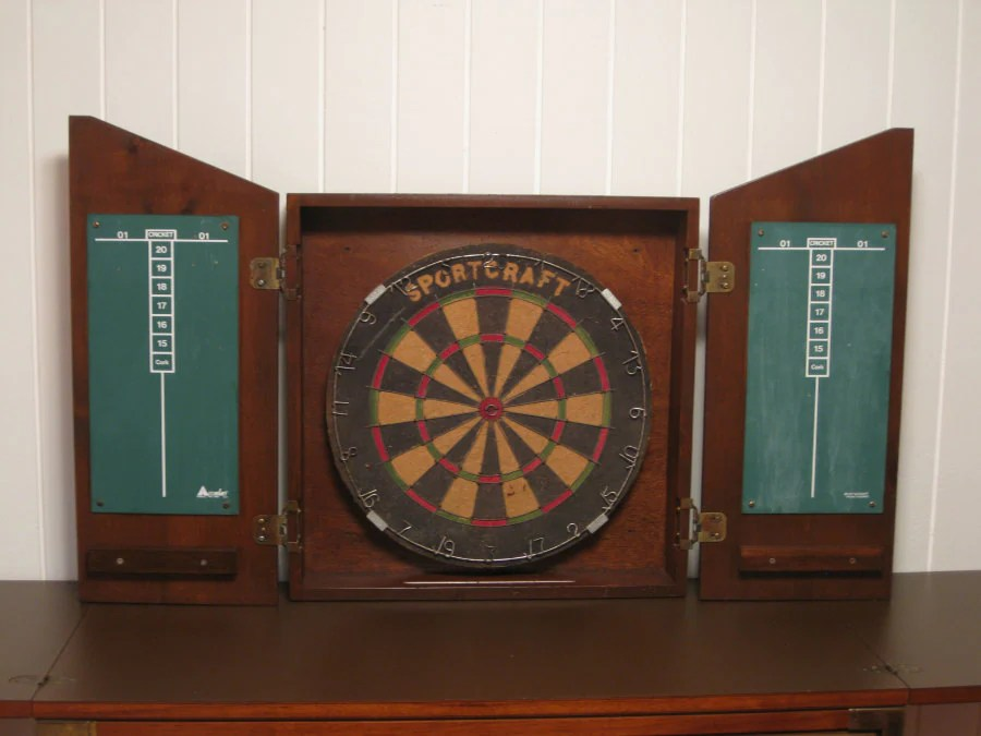 SaveEnlarge · Ana White Dartboard Cabinet ...