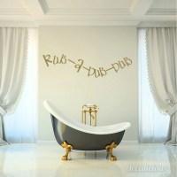 Rub A Dub Dub Bathroom Wall Decal Decals Wall Decal