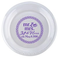Monogrammed Plastic Plates & Personalized Plastic Cup ...
