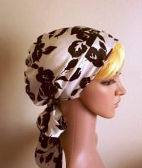 Silk Head Scarves For Natural Hair   satin head snood ...