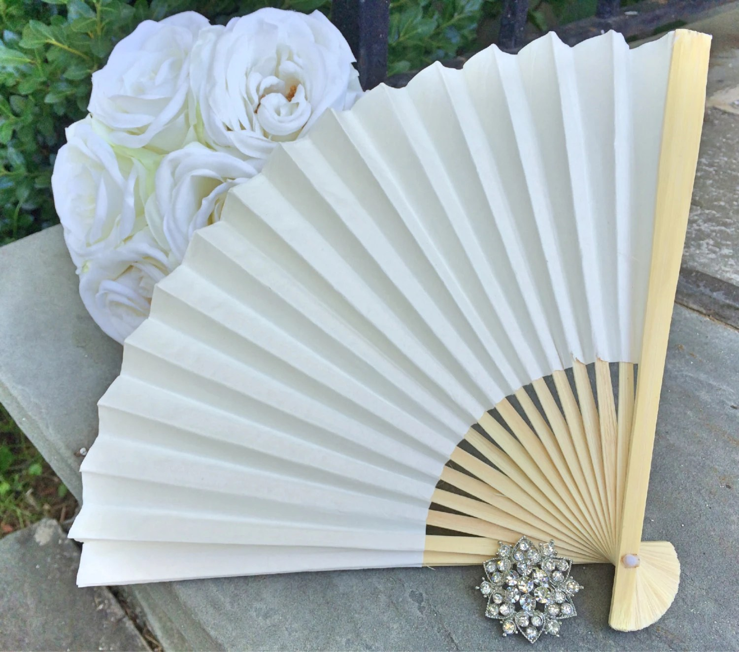 Fächer Selber Basteln Ivory Wedding Paper Fans For Wedding Pictures Ivory Hand