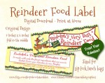 The TomKat Studio Blog Free Printables Reindeer Food