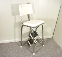retro 50s vintage step stool kitchen stool chair by ...