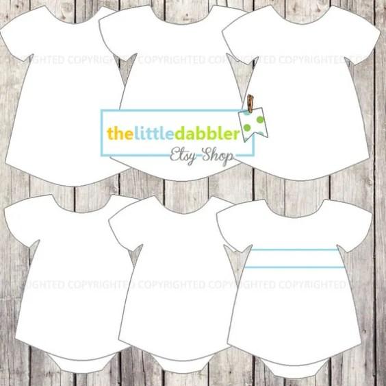 Baby Girl Dress Templates from thelittledabbler.com