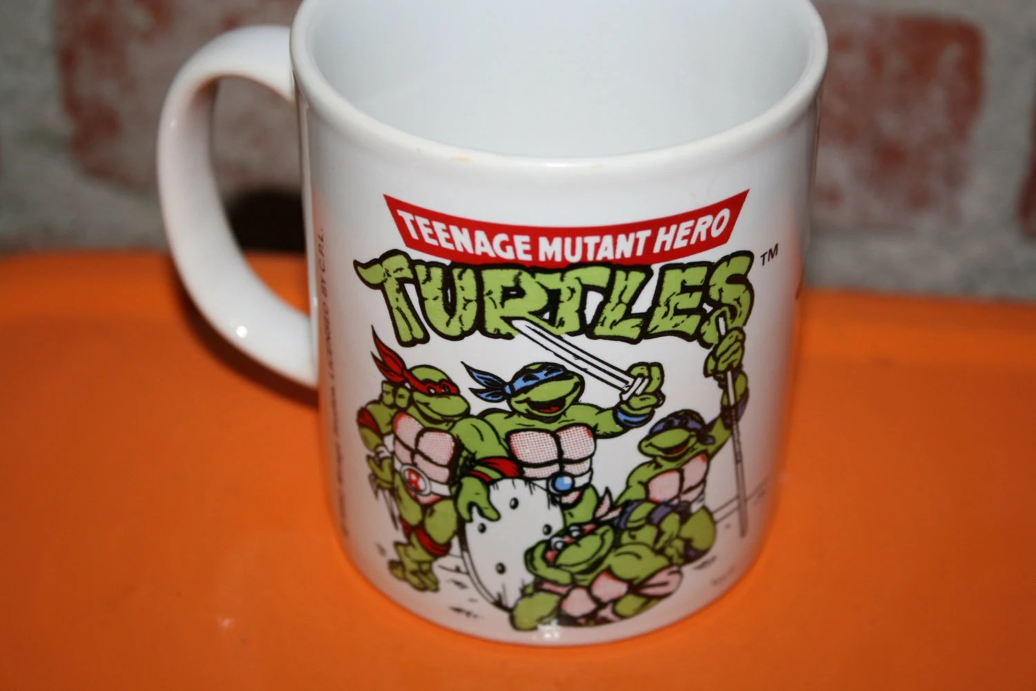 Ninja Mugs Vintage Teenage Mutant Hero Turtles Ninja Turtles Coffee