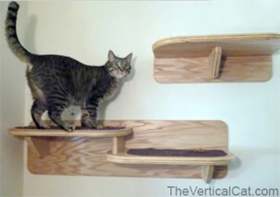 Items Similar To Double Cat Shelf From The Vertical Cat On