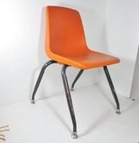 Vintage Childs Plastic School Chair