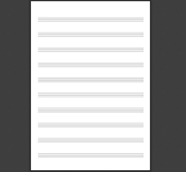 Music Staff Paper Template Lovely Sign In Sheet Template Hd - music paper template