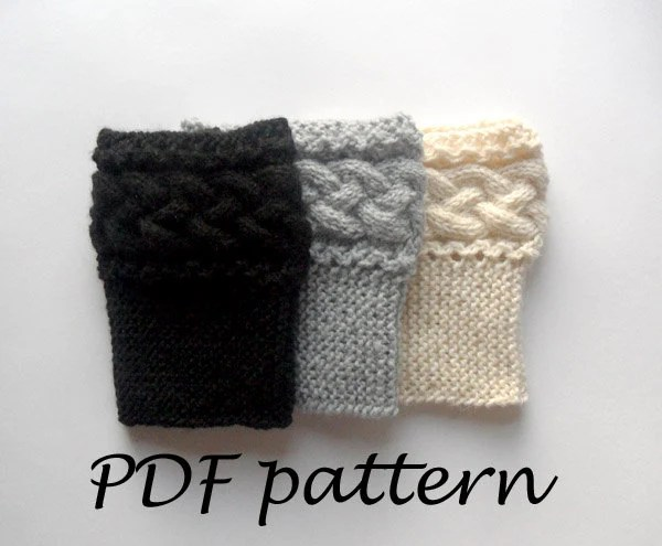 Beautiful Boot Topper Knitting Patterns Free Images Ivoiregion