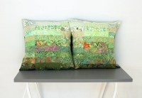 Quilted Pillow Shams Euro Size Pillow Shams by btaylorquilts