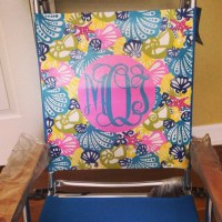 HAND PAINTED Lilly Pulitzer INSPIRED Beach by ...