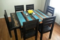 Distressed Rustic Dining Table / Kitchen Table by