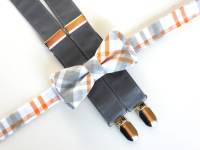 Bow tie and suspenders for kids boys bow tie and suspender