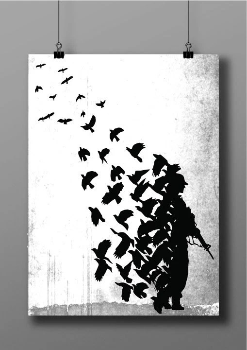 Banksy stencils - Lookup BeforeBuying