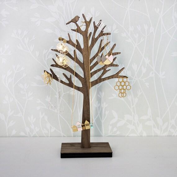 Bird On Tree Jewelry Organizer Jewelry Holder Jewelry