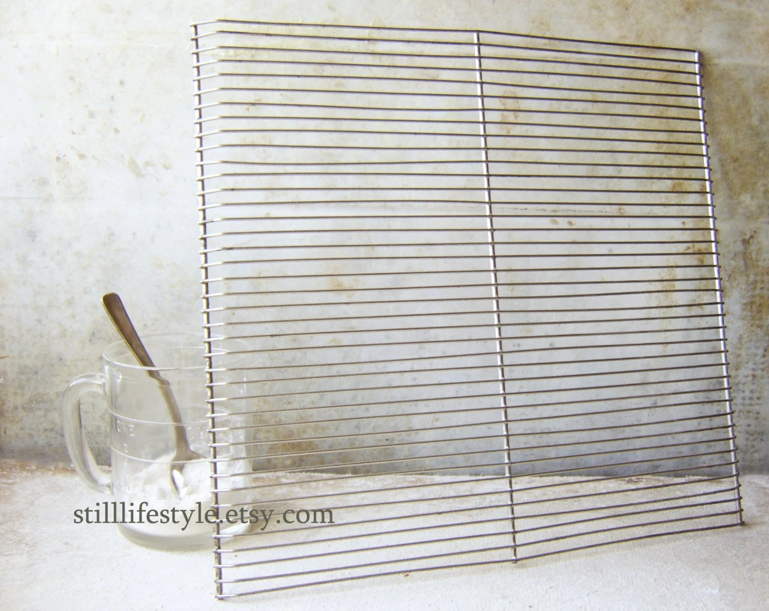 Vintage Wire Cake Cooling Rack Pastry Icing Tray Narrow Wire