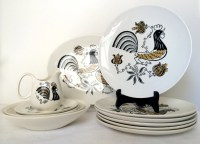 Vintage 1950's Good Morning by Royal Dishes Dinnerware Set