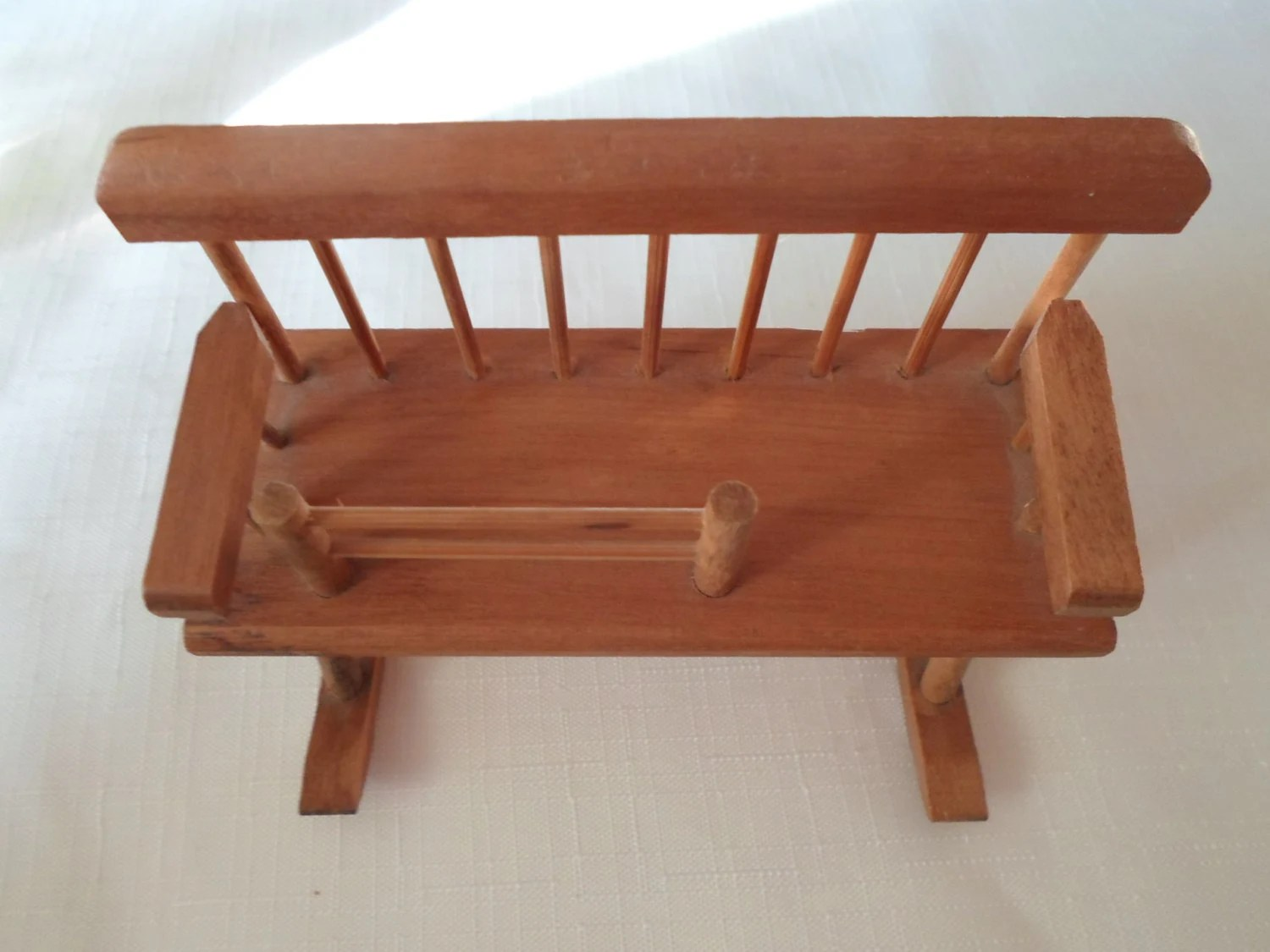 Baby Rocker Bed Vintage Dollhouse Rocker Rocking Chair Baby Cradle