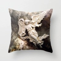 Angel Pillow Case Cover Dreamy Angel Art Pillow by KathyFornal
