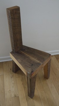Reclaimed Wood Dining Chair. Handmade Dinning Chair. Unique