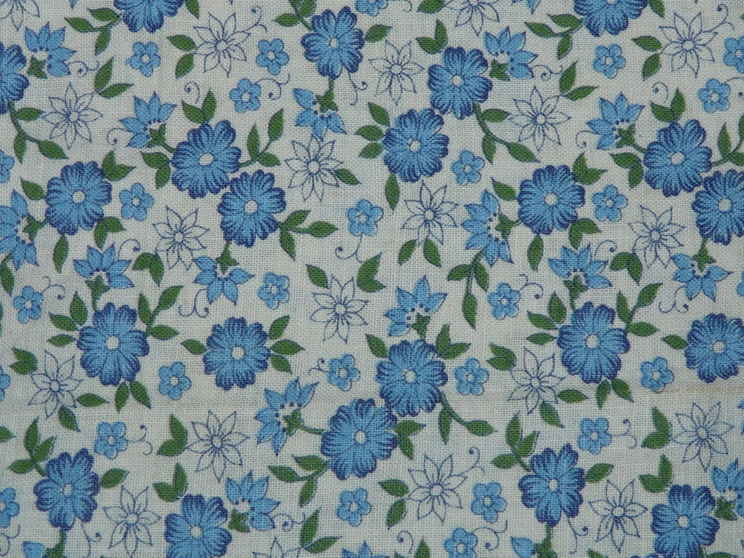 Flour Sack Fabric By The Yard Vintage Feedsack Flour Sack Fabric White Blue By Foundinalaska