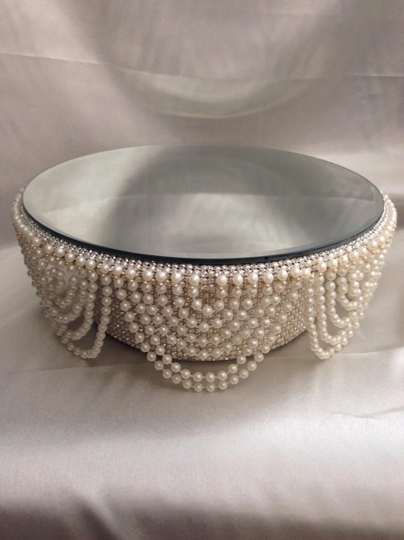 drape design wedding cake stand pearl wedding cake stands zoom