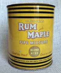 Items similar to Vintage Rum and Maple Pipe Mixture ...