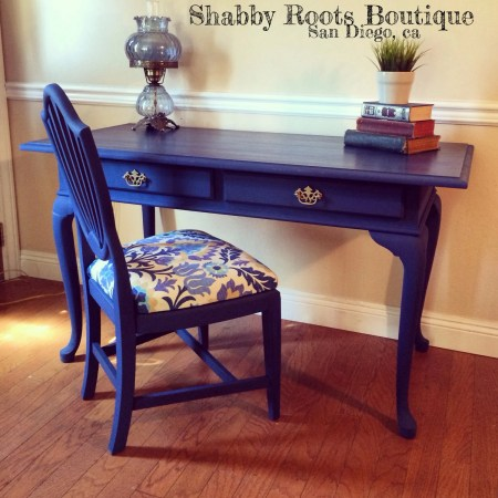 Antique Slate Top Desk
