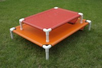 Orthopedic Dog Bed PVC Outdoor Beds Mesh Dog Bed Cot Crate