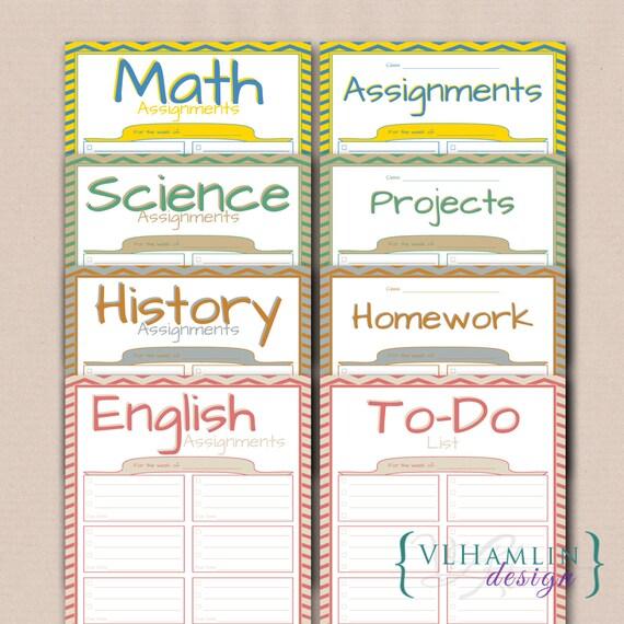 student homework planner - Josemulinohouse - student homework planner